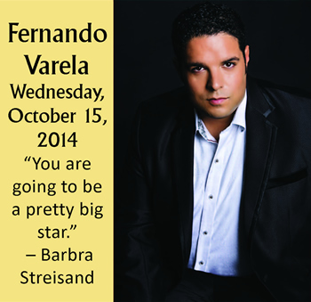 Fernando Varela Performing On Wednesday, October 15, 2014