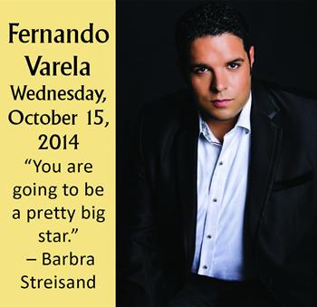 Fernando Varela Performing on Wednesday, October 15, 2014