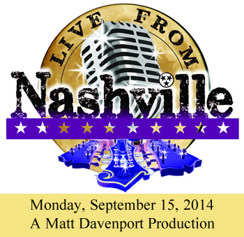 Live From Nashville Performing On Monday, September 15, 2014