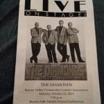 The Diamonds Concert October 21, 2013