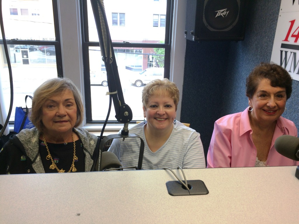 Norma Kehr, Rhonda Ficca, Jean Macaluso Guests on 1230 WBVP, WMBA Radio