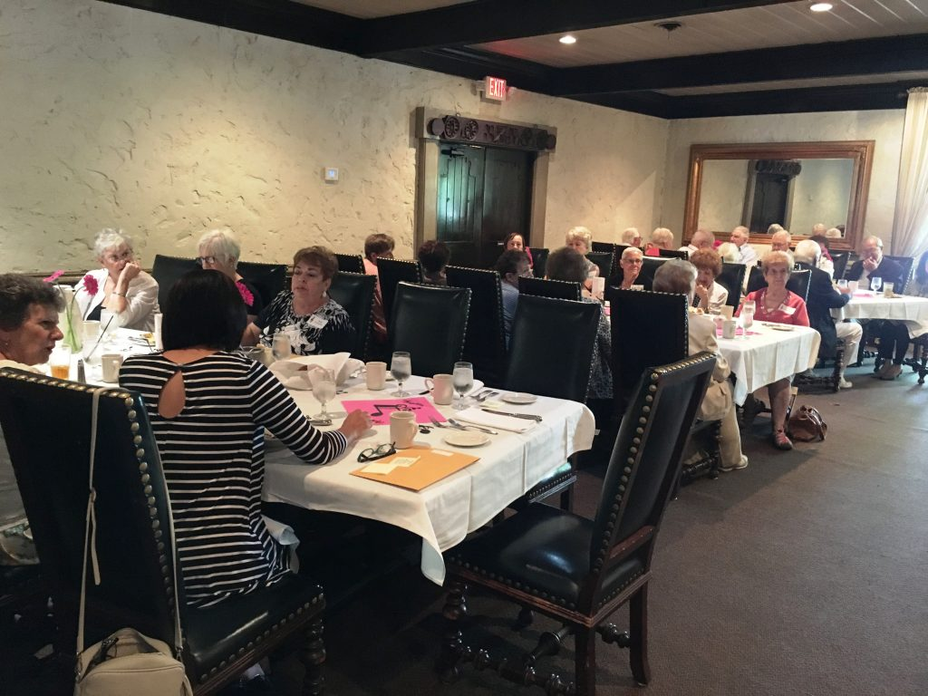 2018 Kick off Luncheon with Board and Volunteers