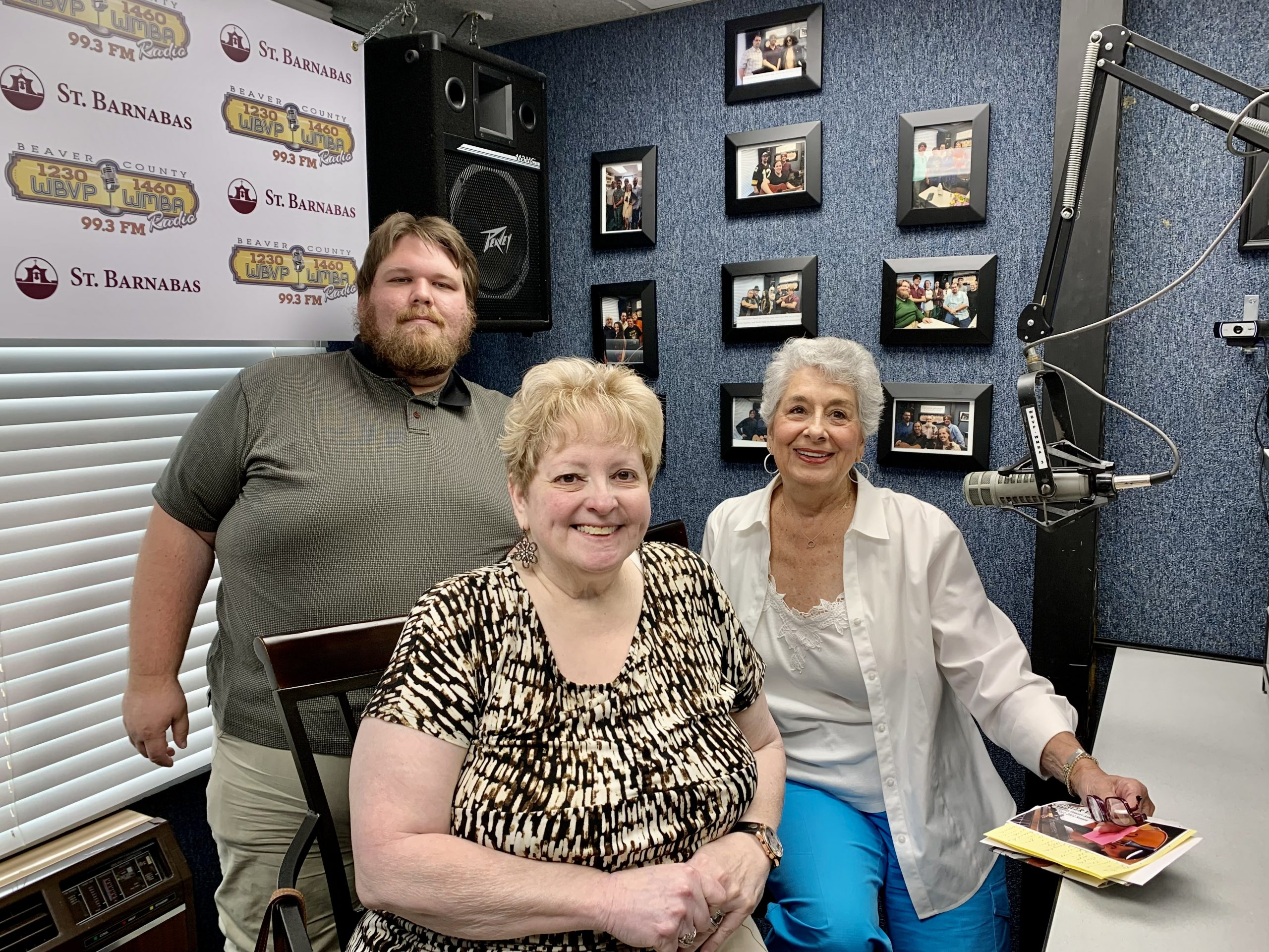 Co-Presidents Rhonda Ficca and Jean Macaluso of the Beaver Valley Community Concert Association on WBVP-WMBP on the morning show with Host Matt Drzik 7-29-21
